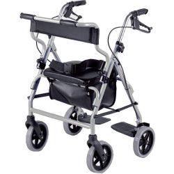 Andador NRS 4 ruedas y silla