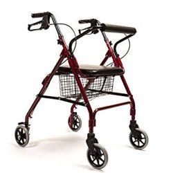 Andador para ancianos ligero y cesta incluida