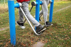 Practicar ejercicios en personas mayores