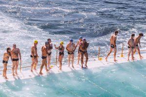 Deportes acuáticos personas mayores