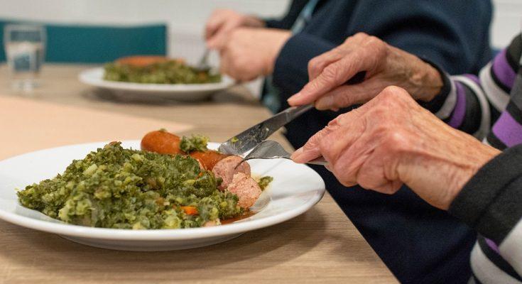 Alimentación saludable para ancianos